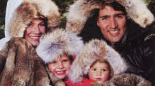 Trudeau Family in Fur